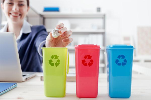Zorg voor minder afval op kantoor