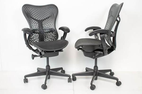 Herman Miller Mirra - duurzame tweedehands bureaustoel