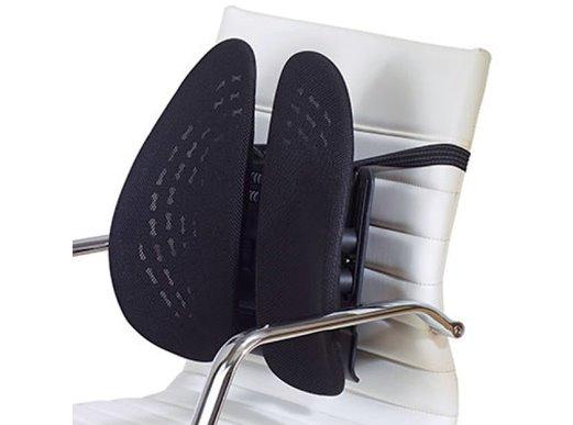 Ergonomische bureaustoel rugsteun