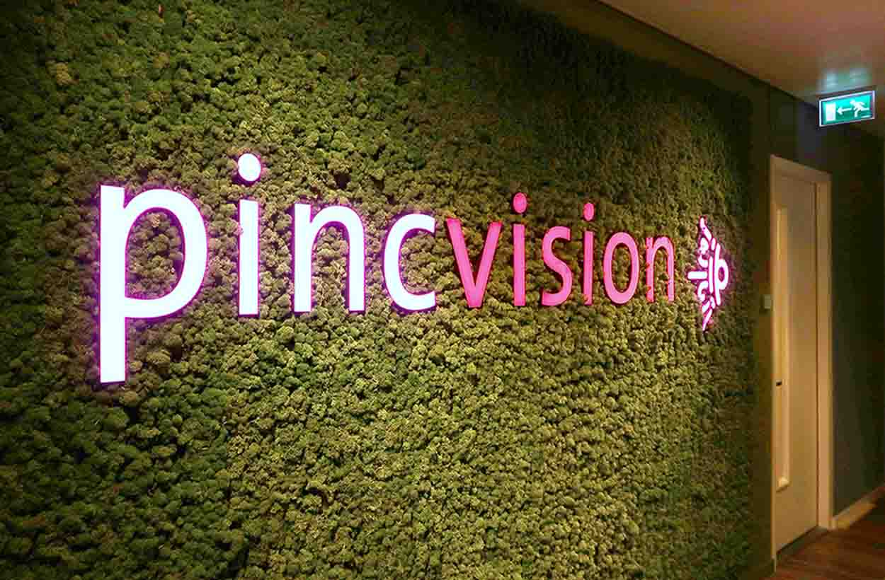 Pincvision entree