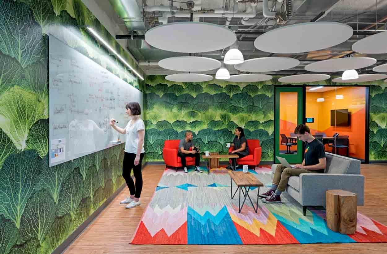 Creatieve kantoorruimte