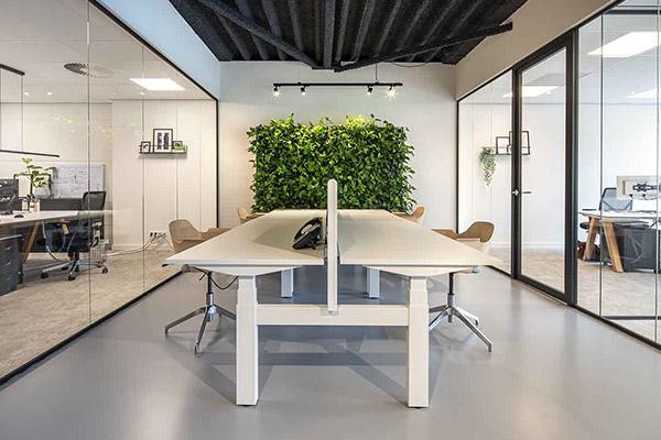 Een groen en duurzame kantoorinrichting