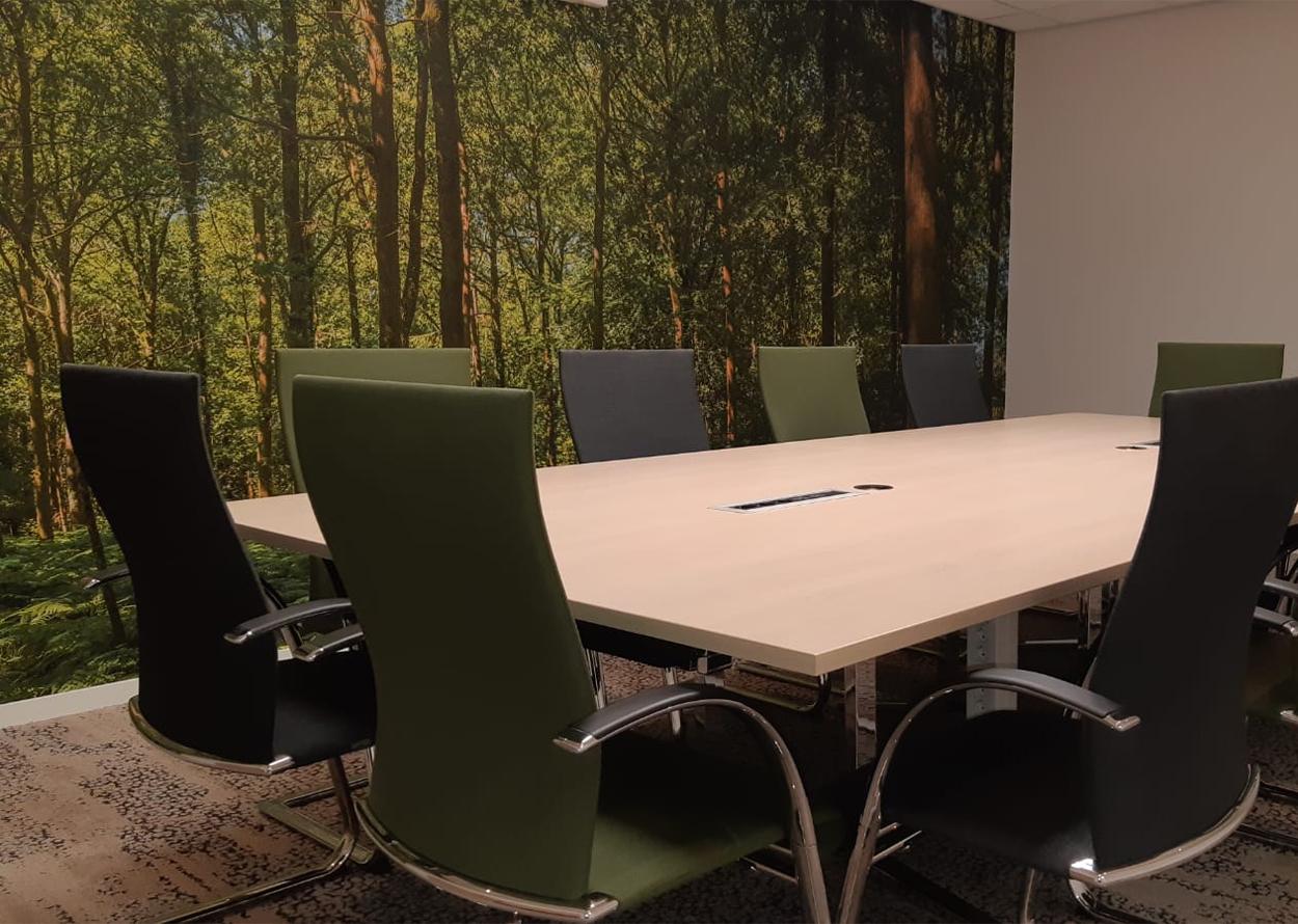 vergadertafel hoek